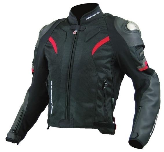 Новинка 2017 оптовая продажа jk-052 Titanium сплав Moto rcycle куртка мужская кожаная Racing куртка Moto защиты куртка