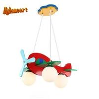 High Quality Baby Room Cartoon Led Pendant Lights Glass E27 LED Lamp 110 220v Acrylic Aircraft