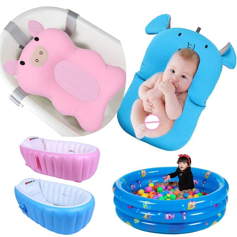 Comprar Baño Bebé Recién Nacido Plegable Pad Y Silla Estante Bañera ... b012c2588e34