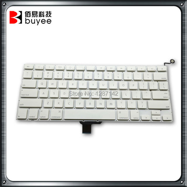 Original US Layout Keyboard For Macbook Pro 13 Inch White US Keyboard A1342  Keyboard