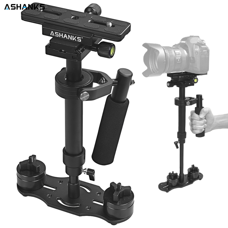 ASHANKS Aluminum alloy S40/S60 Stabilizer Handheld Gimbal Stabilizers for Canon Nikon Sony DSLR Camera Video DV Camcorder gopro professional s60 66cm handheld camera stabilizer for camcorder digital camera canon nikon sony dslr mini steadycam t150 3