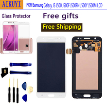 For Samsung Galaxy J5 2015 J500 J500F J500FN J500Y J500M LCD Display+Touch Screen Digitizer Display Touch Screen replacement a lcd display with touch screen digitizer assembly for samsung galaxy j500 j500f j500m free shipping