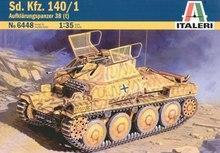 Out of print Italeri Model Kit Sd Kfz 140 1 Aufklarungspanzer Tank 1 35 Scale 6448