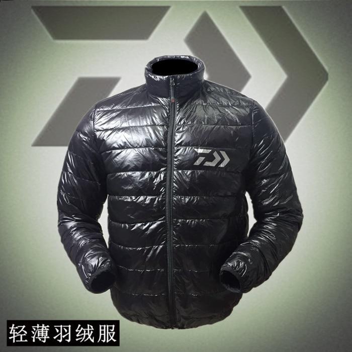 2017 Новый Daiwa Рыбалка одежда пальто осень и зима Дава согреться на открытом воздухе вниз куртка дышащая легкая daiwas Бесплатная доставка