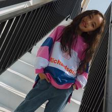 В Корейском стиле в полоску для девочек футболка с длинными рукавами из хлопка; модные весенние топы для девочек От 4 до 9 лет B291