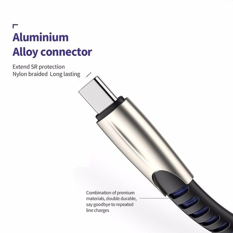 Image 5 - Micro câble USB Charge rapide câble de données USB cordon de synchronisation pour Samsung Huawei Xiaomi et riod Microusb câbles de téléphone portable 0.5/1/2/3mCâbles pour téléphone portable   -