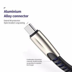 Image 5 - Micro câble USB Charge rapide câble de données USB cordon de synchronisation pour Samsung Huawei Xiaomi et riod Microusb câbles de téléphone portable 0.5/1/2/3m