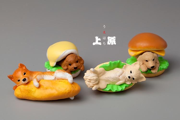 100% True Sleepy Series Corgi Shiba Inu Action Figures Toys Refrigerator Paste Decoration Discounts Price Toys & Hobbies