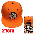 2016 hot anime periféricos Dragon ball / Dragon ball Z Goku laranja chapéu de beisebol preto anime chapéu HT109