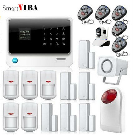 SmartYIBA GSM GPRS SMS Home Alarmes App Integrated In font b Alarm b font App with