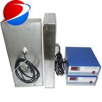 3000W 28khz immersible ultrasonic transducer drop in best ultrasonic cleaner