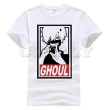 2019 T Shirt Tokyo Ghoul Men Japanese Anime Kaneki Ken Shirts Print T-shirt Top Tee Clothes Women Kids Boy