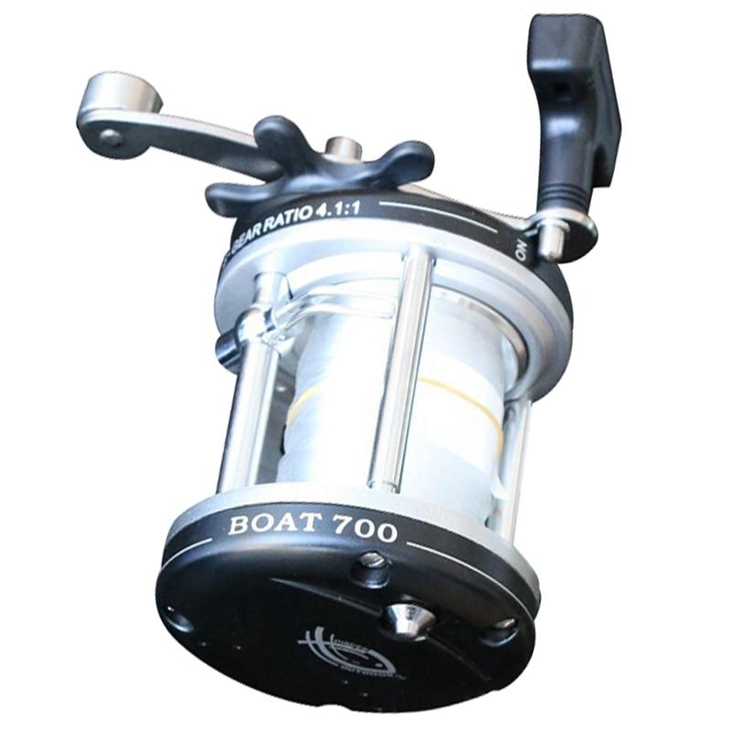 цена на 3 Pcs of (Boat 700 drum saltwater baitcasting trolling fishing reel molinetes para pesca fishing reels saltwater bait casting )