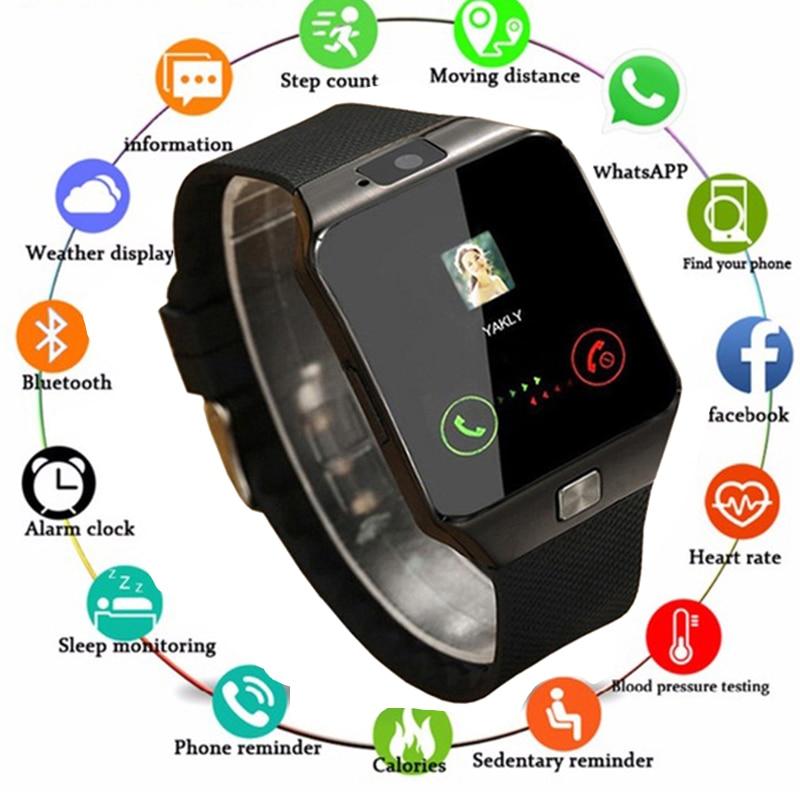 New Smartwatch Intelligent Digital Sport Gold Smart Watch Pedometer For Phone Android Wrist Watch Men Women's Watch Reloj Watch