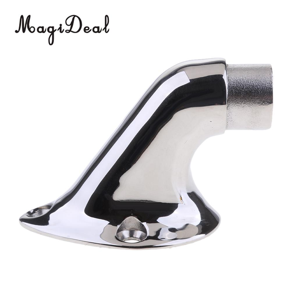 MagiDeal Boat Marine Stainless Steel Stair Railing Support Handrail Mount Bracket For Kayak Canoe Boat Dinghy Yacht Rafting