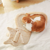 Funny Cat Scratch board toy Cat bed house cushion Cats Scratcher Scratching pad Post Interactive Toy For Cat Training
