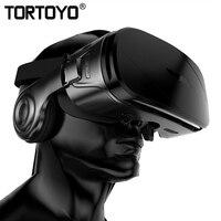 TORTOYO G300 VR Glasses Virtual Reality 3D Glasses Helmet VR With HIFI Stereo Headset Headphone for 4.0 6.0 inch Smart Phone