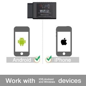 Image 5 - ELM327 V1.5 Scanner de voiture, outil de Diagnostic de voiture, câble OBD2, adaptateur Wifi, lecteurs de Code, Android
