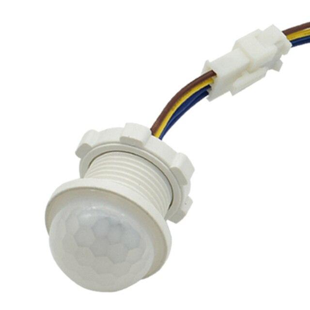 PIR Detektor Zeit Verzögerung Empfindliche Energie Saving Hause Beleuchtung Motion Sensor Led Schalter