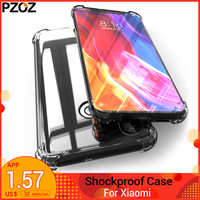 PZOZ Xiaomi Mi 8 mi 8 6 A1 A2 Lite max3 mi x 2 Mi x2S pocophone F1 da Ốp lưng TPU redmi Note 6 5 Plus 6A Pro xảo mi xio mi hạ mi Ốp lưng
