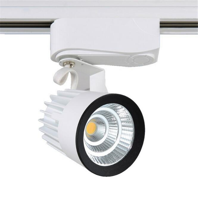 Fast Free Shipping 20pcs/lot ,led Track Light 15w Cob Rail Light Spotlight Equal To 150w Halogen Lamp 110v 120v 220v 230v 240v