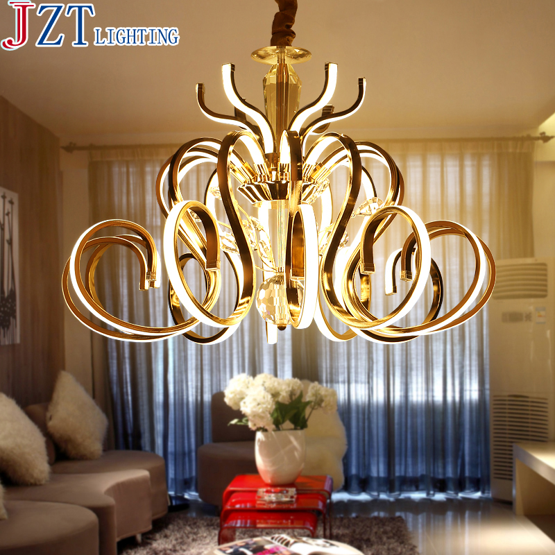 M LED Post-Modern Luxury Villa Crystal Pendant Lamp Dia58/Dia70cm Living Room Dining Room Creative Personality Art Lighting z post modern luxury villas led chandeliers creative silver gold living room dining room study of spherical personality lamps