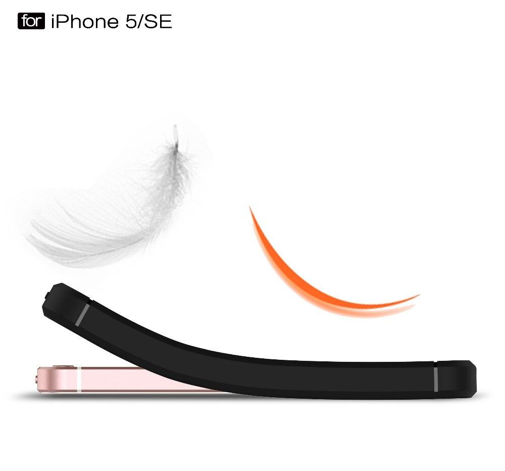Ծածկոցներ iphone 5s- ի համար 6 6s 6s 7 Plus - Բջջային հեռախոսի պարագաներ և պահեստամասեր - Լուսանկար 4