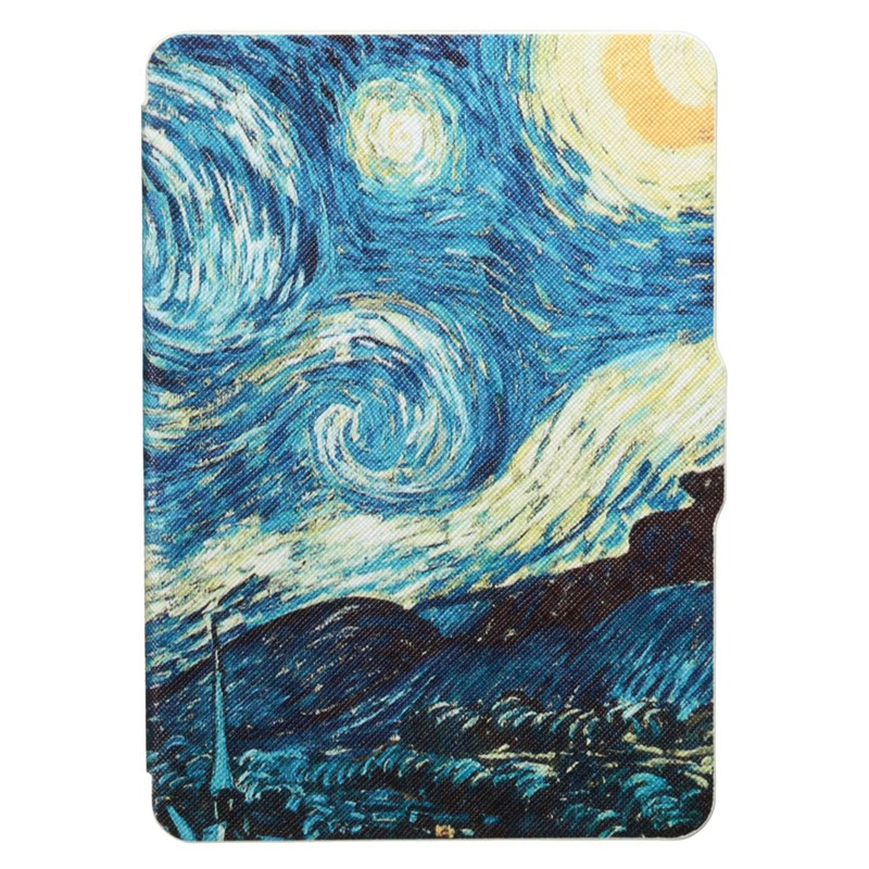 For Kindle Paperwhite Case 1 2 3 Cover New Table Suite Van Gogh Art Oil Painting For Amazon Kindle Protector Cover Case
