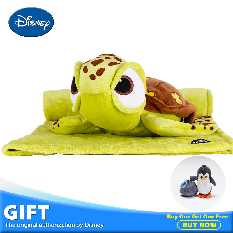 Disney Squirt Plush Toy Stuffed Doll With Portable Rest Warm Blanket Kawaii Children Gift Pillow Cushion Juguete Peluches раскладушка therm a rest therm a rest luxurylite mesh xl