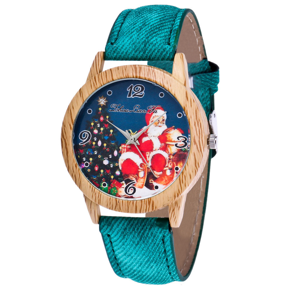 Watch Strap Wrist-Dress Minimalist-Clock Quartz Silicone Top-Brand Ladies Wooden Nature