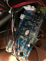 1 шт. mianboard + 2 шт. светодио дный доска с лампой + 2 шт. кабель питания + 2 шт. зажим