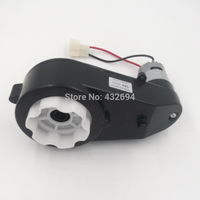 Rs550 Motor Gear Box Gear 6V 12V Child Remote Control Car Electric Bicycle Toy Car Baby