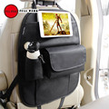 Full werk 1 pc assento de carro de volta organizador multi-bolso saco de armazenamento de viagem para carros caminhões vans suvs