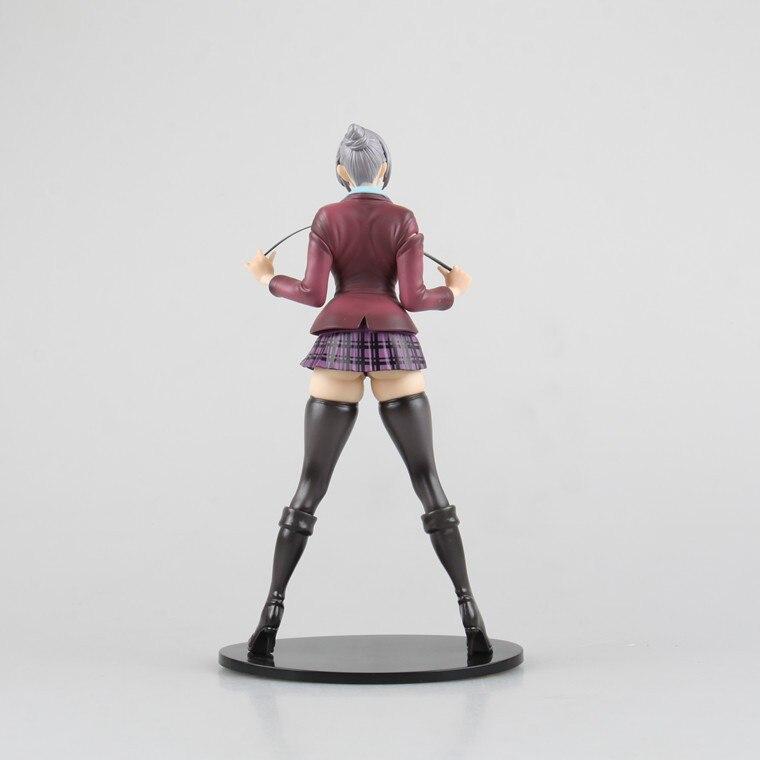 22cm Anime Sexy Figure Prison School Shiraki Meiko Japanese Action Figures PVC Collection Model toys for christmas gift 1