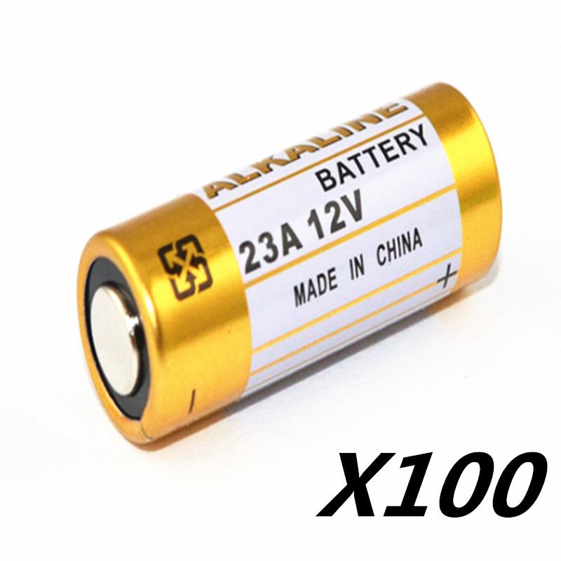 100 шт./лот Батарейки <font><b>23A</b></font> 12 В 21/23 А23 E23A MN21 MS21 V23GA L1028 Щелочные Батареи