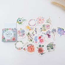 46 pcs/pack Cute Meaty plant paper sticker DIY diary album decoration stickers scrapbooking planner label Scrapbook