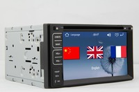 New Brand GPS Navigation 7 HD In Dash Car Stereo Radio Double 2 Din DVD CD