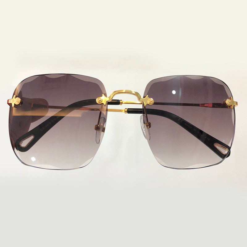 rimless sunglasses women brand designer high quality oculos de sol feminino vintage fashion sun. Black Bedroom Furniture Sets. Home Design Ideas