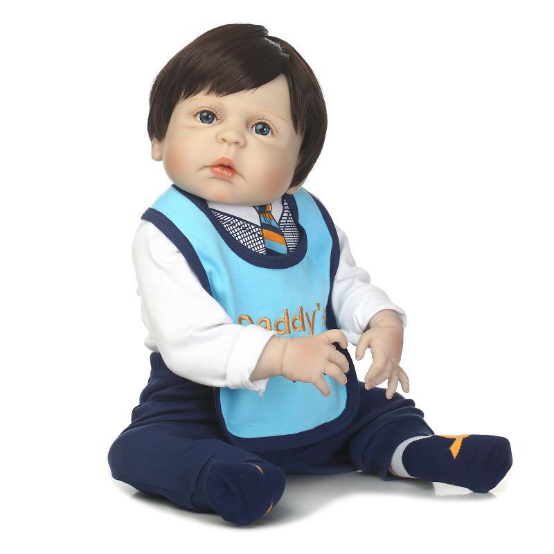 NPK SAMMLUNG 2017 Neue reborn baby voll vinyl JUNGEN puppen lebensechte newborn baby nehmen bad mit kinder weihnachtsgeschenk für kinder-in Puppen aus Spielzeug und Hobbys bei  Gruppe 1