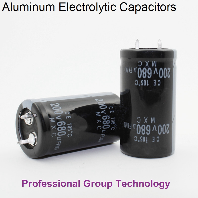 9pcs EB333 Good quality <font><b>200v</b></font> <font><b>680uf</b></font> Radial DIP Aluminum Electrolytic <font><b>Capacitors</b></font> 200v680uf Tolerance 20% size 22x40MM 20% image