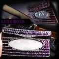 Creativo de lujo de Cristal Colgantes Del Coche Caso de Diamantes para Las Mujeres Auto de Bombeo Titular de la Caja de Papel de Tejido Caja Cubierta Interior Accesorios