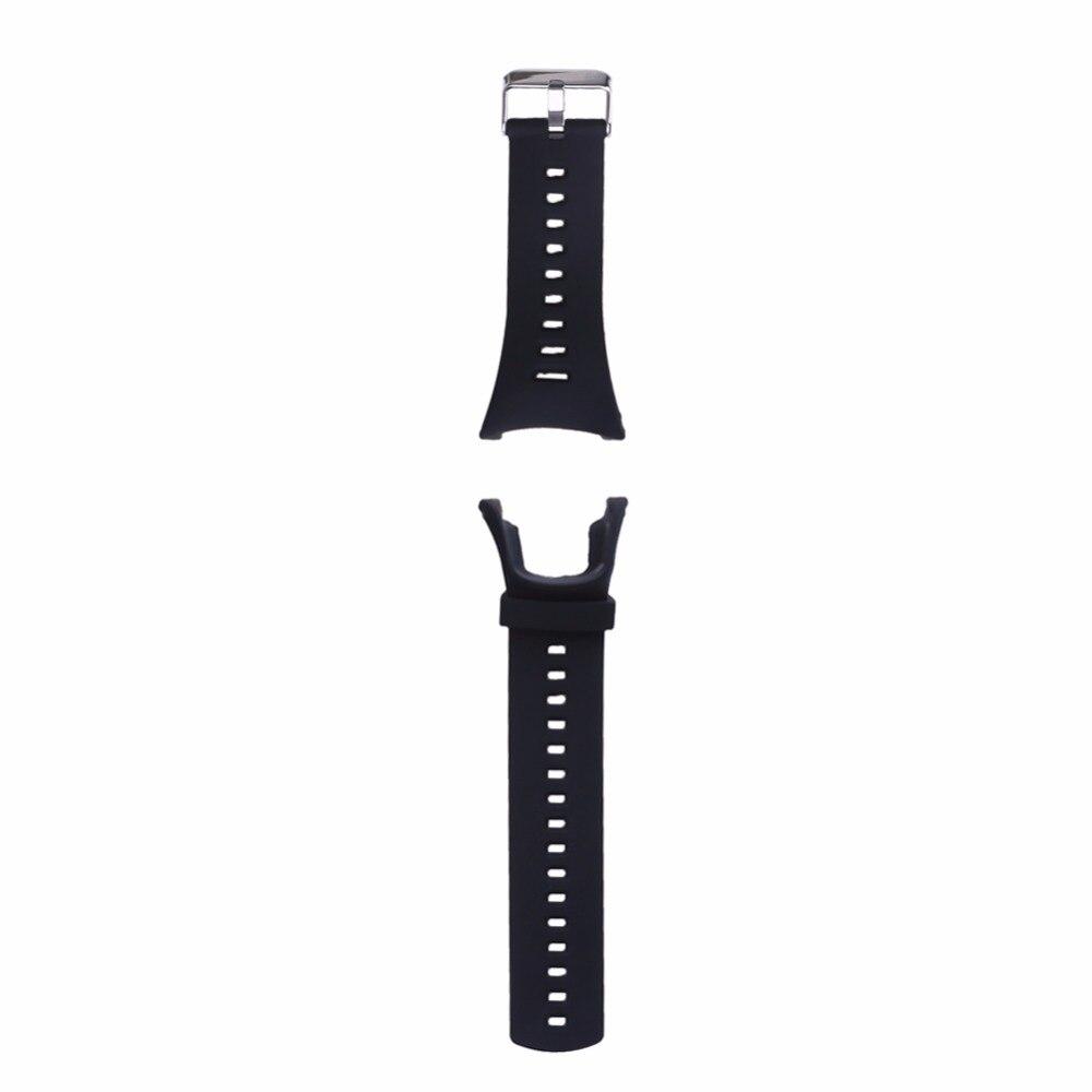 Rubber Watch Band Screws Replacement Band Ambit Strap for SUUNTO AMBIT 3 PEAK/Ambit 2/Ambit 1 correa de reloj eache silicone watch band strap replacement watch band can fit for swatch 17mm 19mm men women