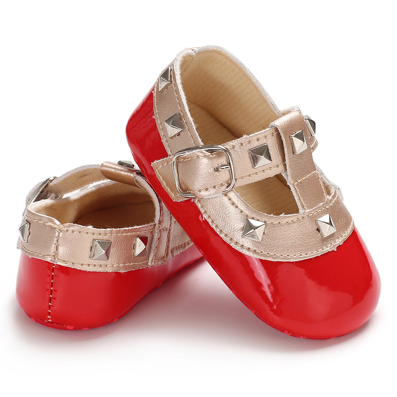 8bd9047d7c US $3.24 35% OFF|Baby Girl Shoes Gold T bar Toddler Shoes Scarpe Bambina  Baby Booties Prewalkers Schoenen Meisje Moda Infantil Chaussure Fille-in ...