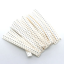 Hot sale 0603 SMD Resistor Kit Assorted Kit 1ohm-10M ohm 1% 36valuesX20pcs=720pcs, 1608 Sample Kit Sample bag