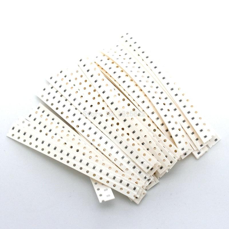 0603 SMD Resistor Kit Assorted Kit 1ohm-10M Ohm 5% 36valuesX20pcs=720pcs 1608 Sample Kit Sample Bag