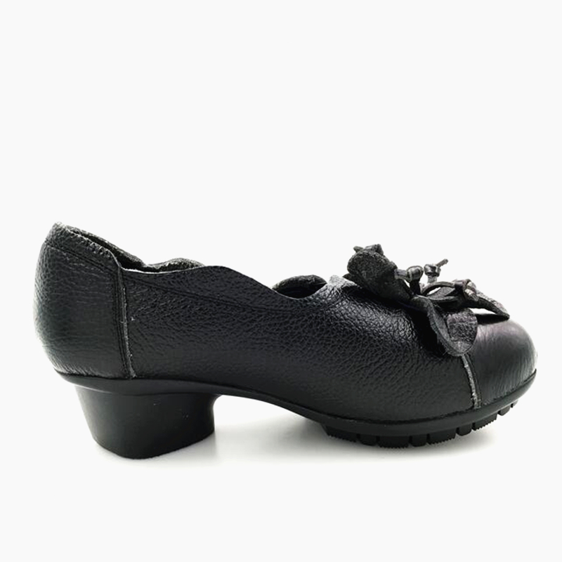 902 Zapatos Genuino Antideslizante Las Black 902 Abedake Tacón Mujer Marca Bajo Retrohandmade Bombas blue Mujeres Suave Cuero De Cómodo La BAqHzFw