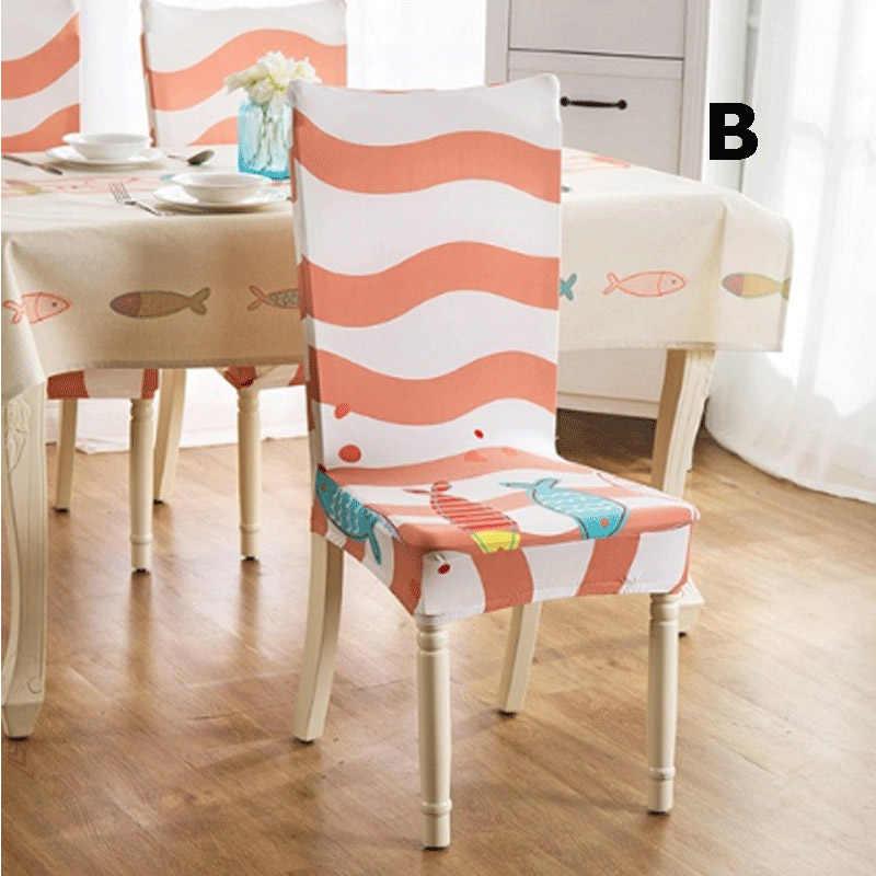 Модный мягкий эластичный Чехол для стула, протектор для банкета, домашний декор, чехол для сиденья для кухни, офиса, свадеб, вечеринок
