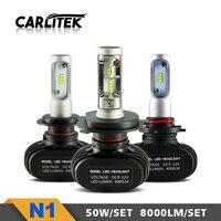 CARLitek S1 N1 Diodes Automobiles Bulbs 50W 8000LM 6000K Auto H4 H7 H1 H8 H11 HB3