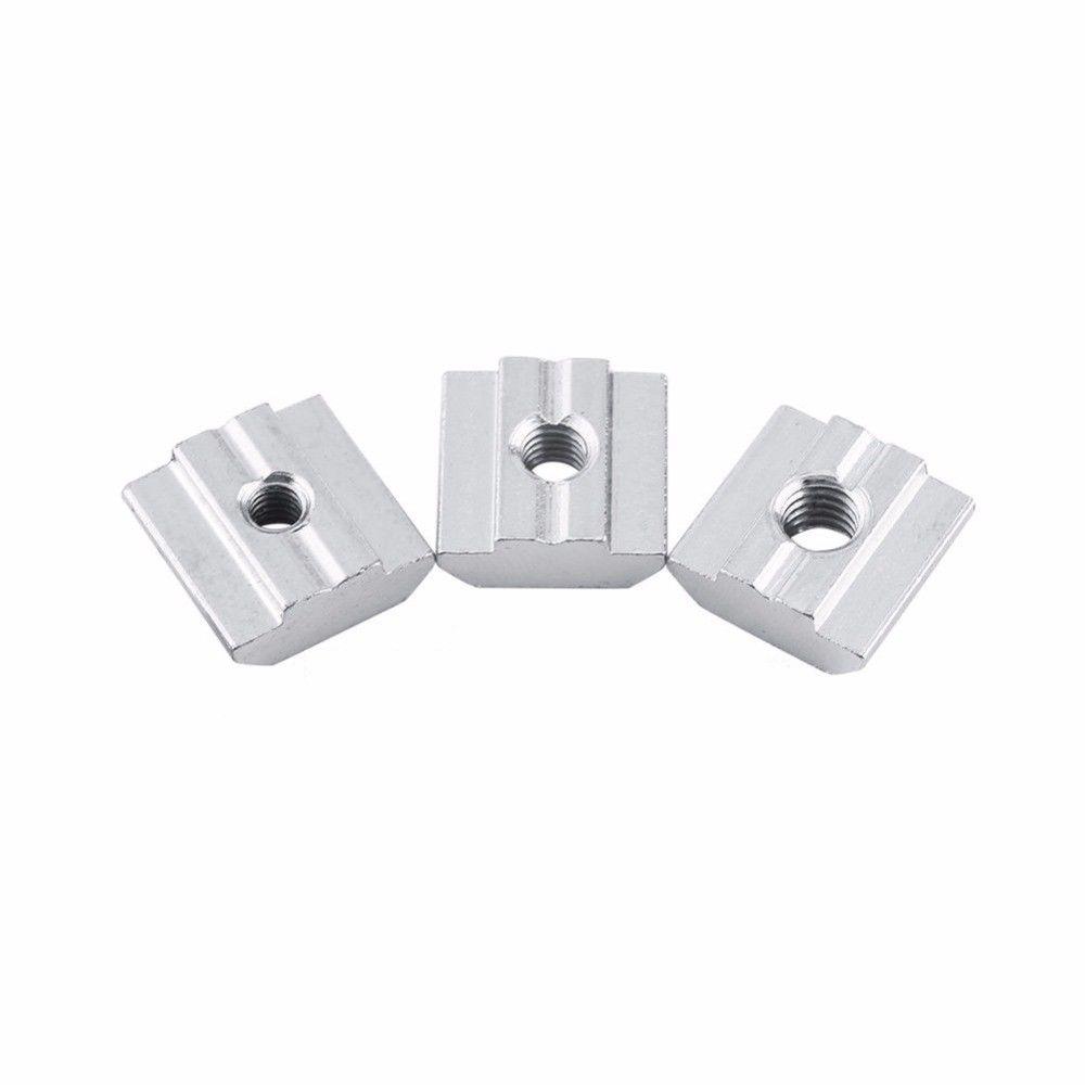 50pcs Hammer Head 40 Series T Sliding Nut Block for European Aluminum Profile