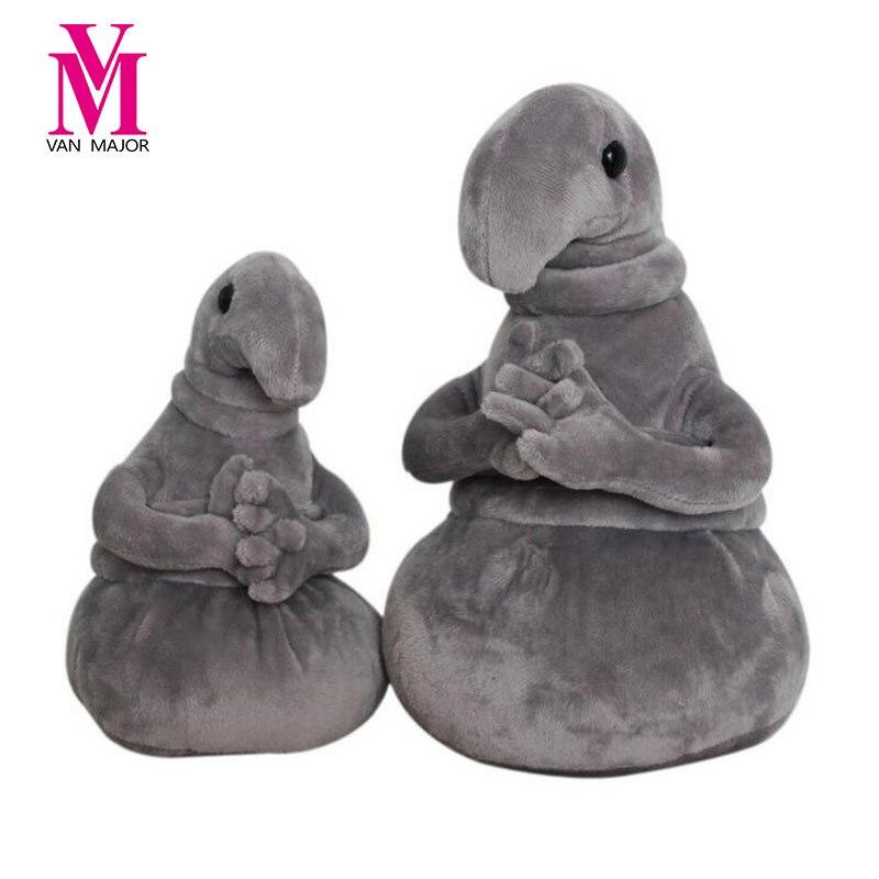 New Arrivals Waiting Plush Toy Zhdun Meme Tubby Gray Blob Zhdun Plush font b Doll b